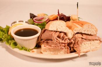 Rojo's Tavern, French Beef Dip Sandwich