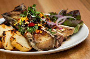 Cottonwood Restaurant, Oven Roasted Bone Marrow