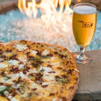 Lake Tahoe AleWorX Taproom, Zucca (squash) pizza