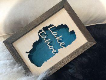 Win Locally Crafted Lake Tahoe Art