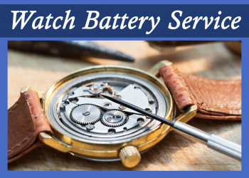 Free Watch Battery Service