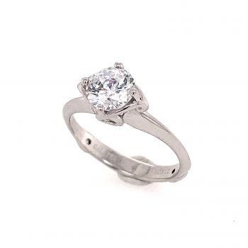 Bluestone Jewelry & Wine, Engagement Ring with Surprise Diamonds