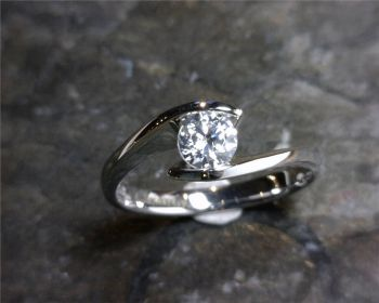 Bluestone Jewelry & Wine, Bypass Engagement Ring