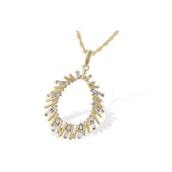 Bluestone Jewelry, Emerald Cut Diamond Pendant