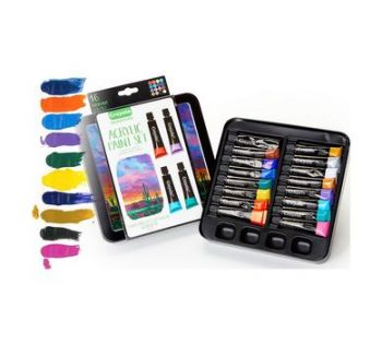 Toy Maniacs, Crayola Acrylic Paint Set