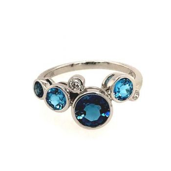 Bluestone Jewelry, Bluestone Collection Ring Water Droplets