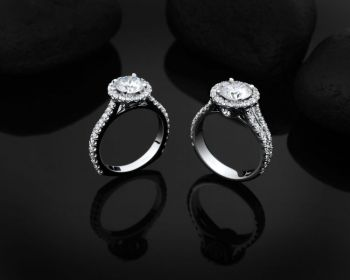 Steve Schmier's Jewelry, Halo Engagement Rings