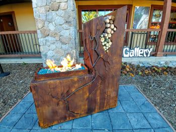 Benko Art Gallery, Custom Fire Pits