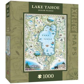Toy Maniacs, Xplorer Lake Tahoe Jigsaw Puzzle