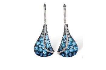 Bluestone Jewelry, Custom Designed Earrings