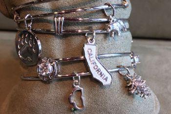 Bluestone Jewelry & Wine, Sterling Silver Charm Bracelets