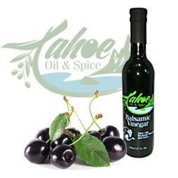 Tahoe Oil & Spice, Black Cherry Aged Dark Balsamic