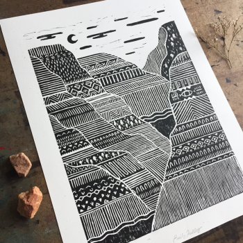 Coalition Snow, Land and She | Canyons Print