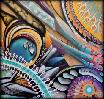 Benko Art Gallery, Electric Shaman Canvas Print