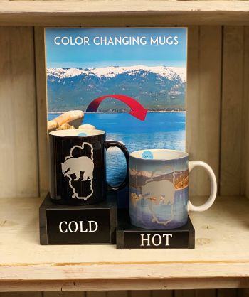 The Robin's Nest Lake Tahoe, Lake Tahoe Color Changing Mugs