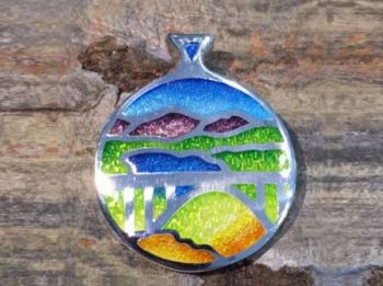 Bluestone Jewelry & Wine, Donner Lake Truckee Pendant