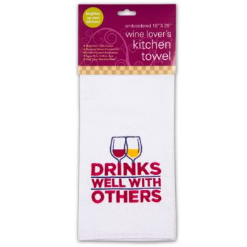 Glasses Wine Bar, Wine Lover's Kitchen Towels