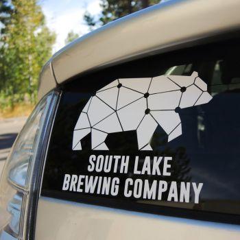 South Lake Brewing Company, Die-Cut Bear Sticker