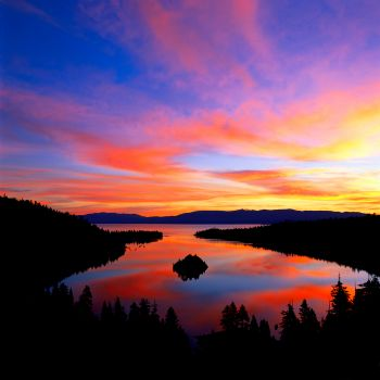 The Eadington Gallery, Emerald Bay Sunrise - (Summer) - 4 Seasons Classic Collection