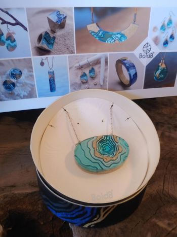 Ginger Threads Collections, BoldB Handmade Resin Jewelry