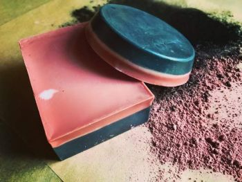 Coalition Snow, Mount Rose Alchemy | Rose Clay & Activated Charcoal Cleansing and Moisturizing Face Bar