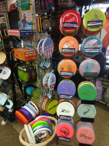 Tahoe Dave's, Disc Golf Supplies