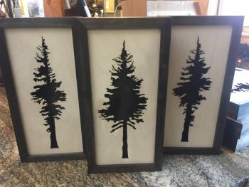 Mountain Home Center, Laser Cut Wood Tree Wall Decor