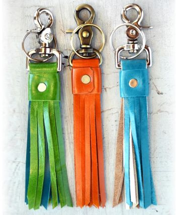 Riverside Art Studios, Leather Keychain
