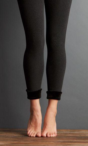 What a Girl Wants, Lemon Fur Cuff Legging