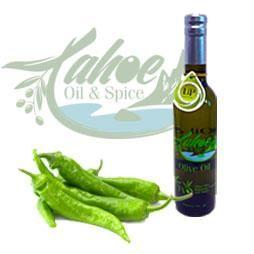 """Tahoe Oil & Spice, Baklouti Green Chili Pepper """"Agrumato"""" Olive Oil"""