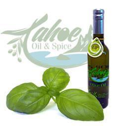 Tahoe Oil & Spice, Basil Infused Olive Oil