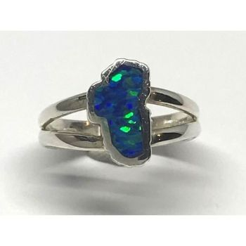 Bluestone Jewelry & Wine, Small Opal Lake Tahoe Ring