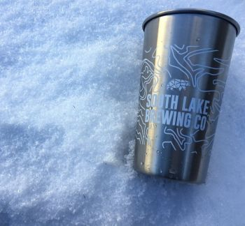 South Lake Brewing Company, Stainless Pint Glass