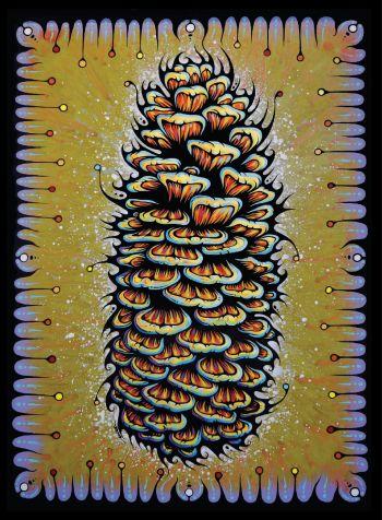 Benko Art Gallery, Sugar Pine Cone Canvas Print