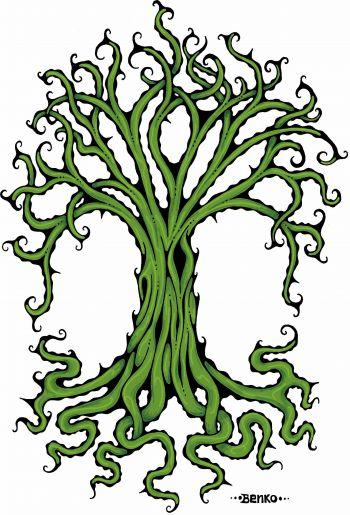 Benko Art Gallery, Tree of Life Canvas Print