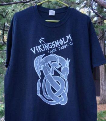 Sierra State Parks Foundation, Men's Vikingsholm Knotted Dragon T-Shirt