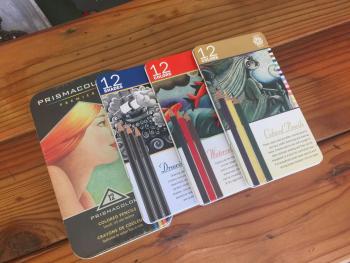 Wildwood Makers Market, Prismacolor Premium Pencils