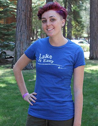 Action Water Sports, Women's Lake It Easy Tee Shirt - $25