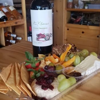 The Cork and More, Cheese & Wine for Two!