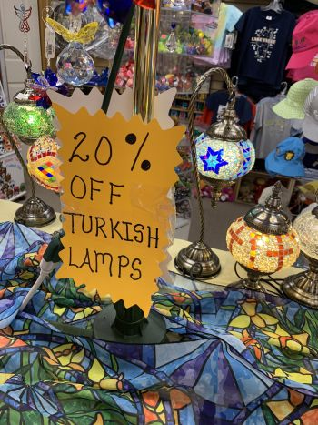 Cabin Fever Shopping Emporium, Sale on Lamps!