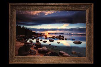 "The Eadington Gallery, $300 Off 20"" x 30"" Metal & Barnwood Frame Prints"