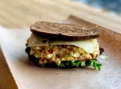 Not your grandma's egg salad sandwich.