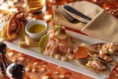 Peruvian Seafood Cebiche