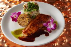 Roasted Salmon Agave