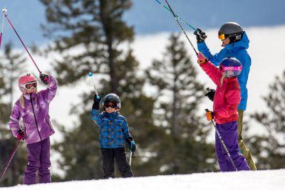 Chilldren's Ski School Lesson Northstar