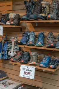 Donner Pass Location - Seasonal Footwear