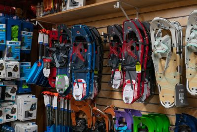 Donner Pass Location - Snowshoes