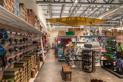 Soaring Ranch Location - Footwear Aisle