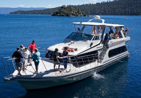 Camp Richardson Resort, Rum Runner Cruise to Emerald Bay