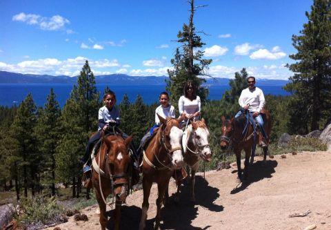 Zephyr Cove Stables, See Tahoe by Horseback